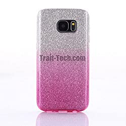 Best Deals - 3 in 1 Hybrid Luxury Show Yourself Fashion Back Case for Samsung S6 Edge Plus - Pink