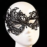 Baomabao Sexy Lace Eye Mask Masquerade Ball Halloween Party Fancy Costume