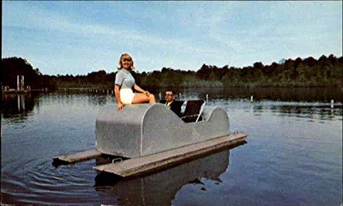 pedal-boats-sesquicentennial-state-park-scenic-south-carolina-original-vintage-postcard