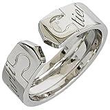 (カルティエ)Cartier 2C ロゴ リング 13号(53) K18WG 7.0g 中古