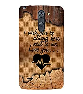 Love Me Quote 3D Hard Polycarbonate Designer Back Case Cover for LG G3 Stylus :: LG G3 Stylus D690N :: LG G3 Stylus D690