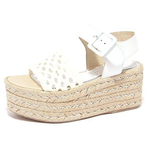 8923P sandalo PALOMITAS BY PALOMA BARCELO bianco scarpa donna sandal woman [37]