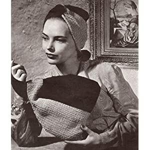 IRISH CROCHET OPERA BAG Vintage Crochet Pattern: Unknown, Bernhard