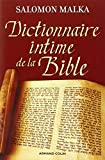 img - for Dictionnaire intime de la Bible (French Edition) book / textbook / text book