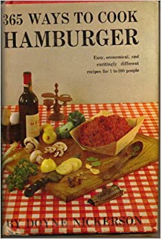 365 Ways To Cook Hamburger Doyne Nickerson Books