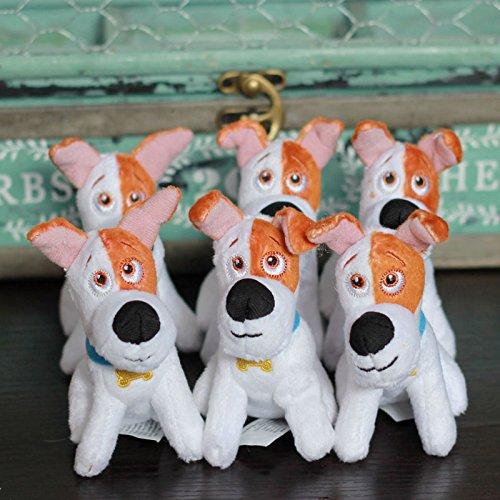 2016 New The Secret Life of Pets Max Dalmatian Dog Mini Plush Toy Gift 3.5