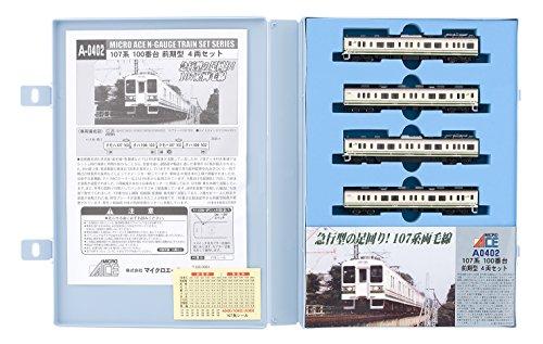 Nゲージ A0402 107系100番台 前期型 4両セット