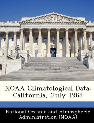 NOAA Climatological Data: California, July 1968