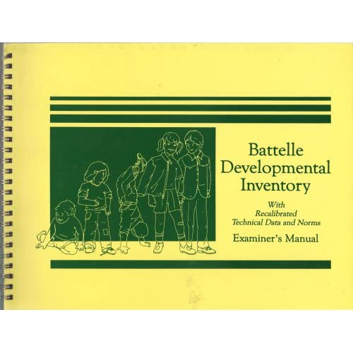 Battelle Developmental Inventory with Recalibrated