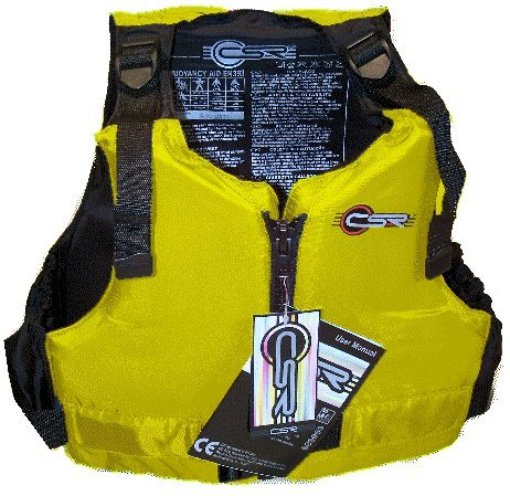 Extra Large Xl Yellow Mk1 Crewsaver Csr Mk1 Buoyancy Aid Life Jacket Vest 50n