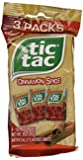 """Tic Tac """"Cinnamon Spice"""" Mints - 4 (3)-packs for a Total of 12 Boxes (Each Box Holds 18 Mints)"""