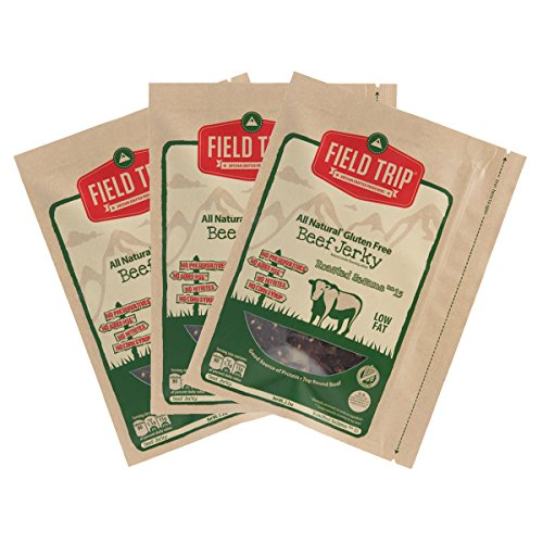 TRIP All Natural Beef & Turkey Jerky Gluten Free Variety- Honey Spice ...