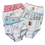 Handcraft Toddler Girls Disney Frozen 7 Pack Underwear