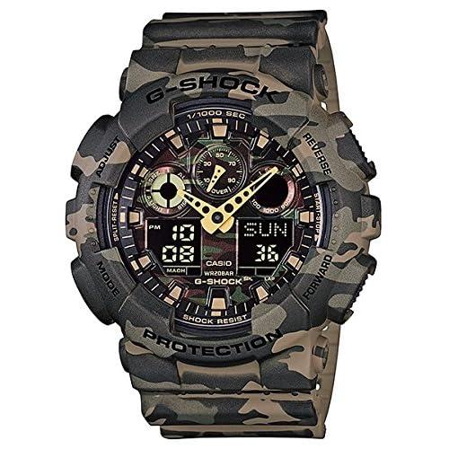 [カシオ]CASIO 腕時計 G-SHOCK Camouflage Series GA-100CM-5A メンズ [逆輸入モデル]