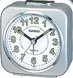 Casio TQ-143-8EF - Reloj despertador (analógico, cuarzo, alarma repetitiva y microlámpara)