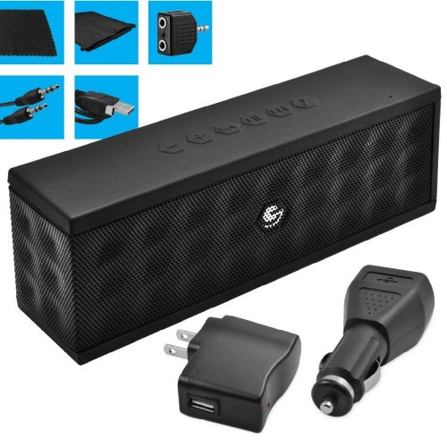 Ematic 8-In-1 Universal Accessory Kit With Portable Bluetooth Speakerbox