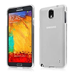 Cadpase Soft Jacket Xpose Case for Samsung Galaxy Note 3 - Tinted White