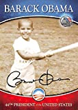 Barack Obama trading card (44th President of the United States, Childhood playing Baseball) Merrick Mint #4