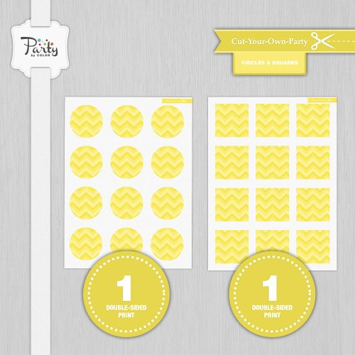 Make Your Own Baby Shower Party Favors front-512751