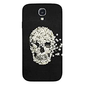 Back cover for Samsung Galaxy S4 Floral Skull