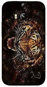 Timpax protective Armor Hard Bumper Back Case Cover. Multicolor printed on 3 Dimensional case with latest & finest graphic design art. Compatible with HTC M8 Design No : TDZ-26092