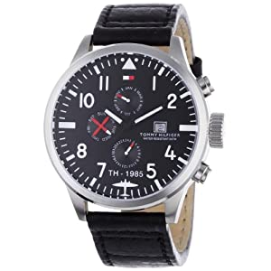 Tommy Hilfiger Mens 1790683 Sport Multi Eye Stainless Steel Watch image