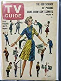 1963 TV Guide Jul 27 Game Show Issue - New York State Edition Very Good to Excellent (4 out of 10) Used Cond. by Mickeys Pubs