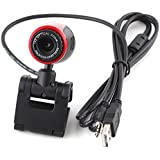 USB2.0 Clip WebCam 10X Optical Zoom w/ MIC Microphone for Laptop PC