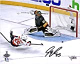 """Devante Smith-Pelly Washington Capitals 2018 Stanley Cup Champions Autographed 8"""" x 10"""" Game-Tying Goal Photograph - Fanatics Authentic Certified"""