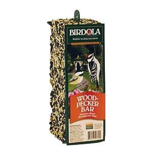Birdola Woodpecker Bar - 12 Per Case