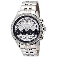 [ブルッキアーナ]BROOKIANA 腕時計 機械式  4連マルチカレンダー BA1676-SVBK メンズ