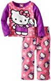 Hello Kitty Girls 2-6X 2 Piece Fleece Pajama Set