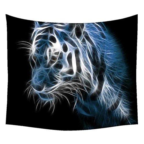 snoogg-glanz-tiger-digital-wandteppichen-indischen-mandala-tapisserie-dekorative-wohnheim-wandteppic