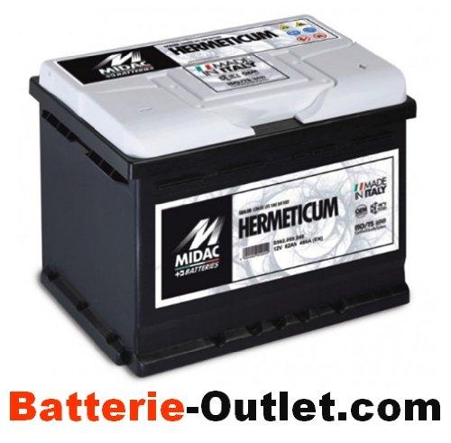 Autobatterie Starterbatterie Midac Hermeticum