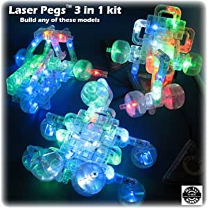 Laser Pegs 3-in-1 Build Kit
