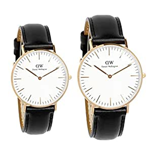 [ダニエルウェリントン]Daniel Wellington 腕時計 ペアウォッチ 0508DW 36mm 0107DW 40mm クラシック シンプル メンズ レディース [並行輸入品]