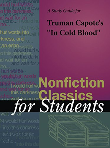 in cold blood truman capotes nonfiction
