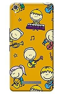 Tamah Designer Printed Back Cover for Micromax Canvas JUICE3+ - Q394