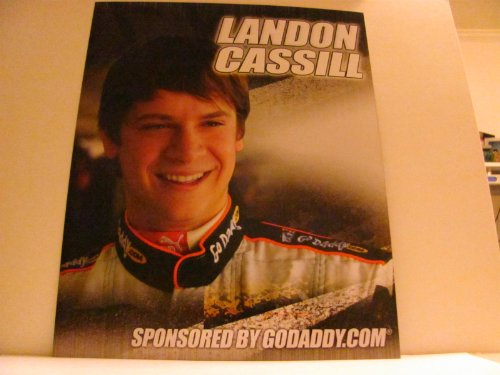 Buy Landon Cassill - NASCAR - UNSIGNED Racing Photo Card (8.0 in. x 10.0 in.) (Camping World - Truck #46) by Unknown