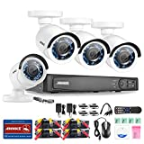Annke 8CH 1080P HD-TVI H.264 Realtime DVR Video Security System Kit (16-Items)