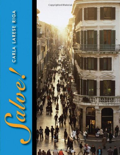 Salve! (with Audio CD) (World Languages) (Salve Italian compare prices)