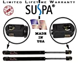 "Suspa C16-08054 C1608054 20"" Gas Prop, Quantity (2), Force 100 Lbs Per Prop, Force Per Set 200 Lbs, Camper Rear Window, Tonneau Cover Lift Supports, Window Lift Support, Made in USA"