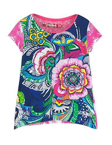 Desigual, DELAWARE - Camicia para ragazza, color blu lovely, talla 128