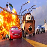 DISNEY CARS 2 LIGHTENING MCQUEEN AND MATER ACTION SCENE 24