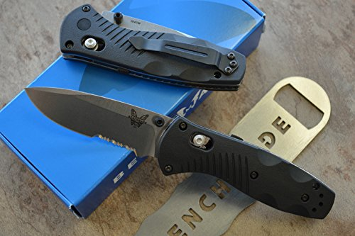 Benchmade 585S Mini Barrage Assisted Opening Knife with FREE Benchmade Bottle Opener (Benchmade Barrage Mini compare prices)
