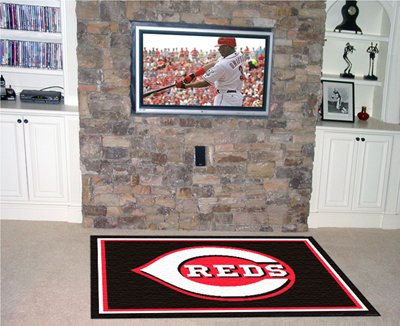 Reds 4' x 6' Area Rugs