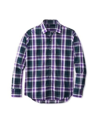 Zachary Prell Men's Samuelson Checked Long Sleeve Shirt