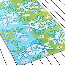 Novelty Floral pattern cotton beach towel 30quot  60quotL