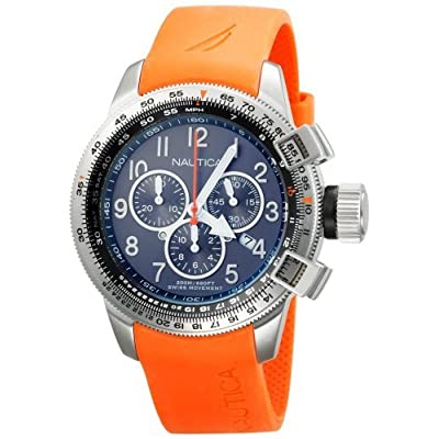 Amazon.com: Nautica Men's N19523G BFC Chronograph Watch: Nautica