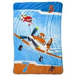 Disney Planes Plush Blanket - Large, 62x90in.